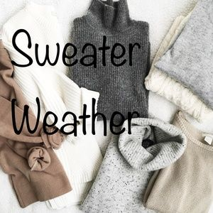 Sweaters, Beanies, Scarves Bundle and Save!